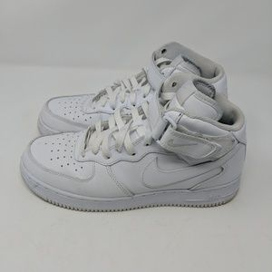 Nike Air Force 1 Mid '07 Men's White Sneakers 8.5